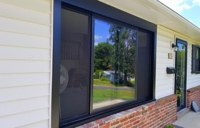 Black Andersen Windows Give a Willow Grove Home a New Modern Look