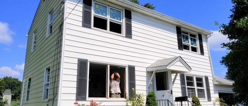 21 Andersen Double Hung Windows Installed In Trenton Nj