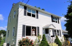 21 Andersen Double Hung Windows Installed in Trenton, NJ!