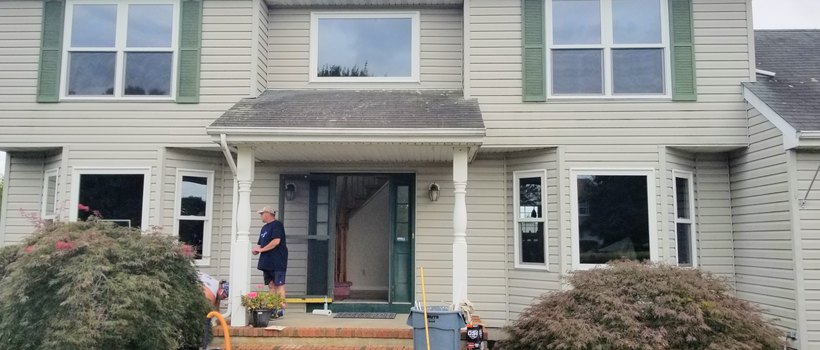 Andersen 100 Series Windows Installed in Wrightstown, NJ!