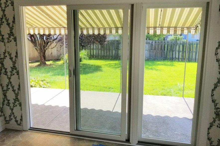 Andersen 100 Series Sliding Patio Door Installed In Jamison Pa